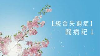 【統合失調症】闘病記1急性期!陽性症状